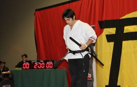Martial Artist Nikolas Charalambides Excels