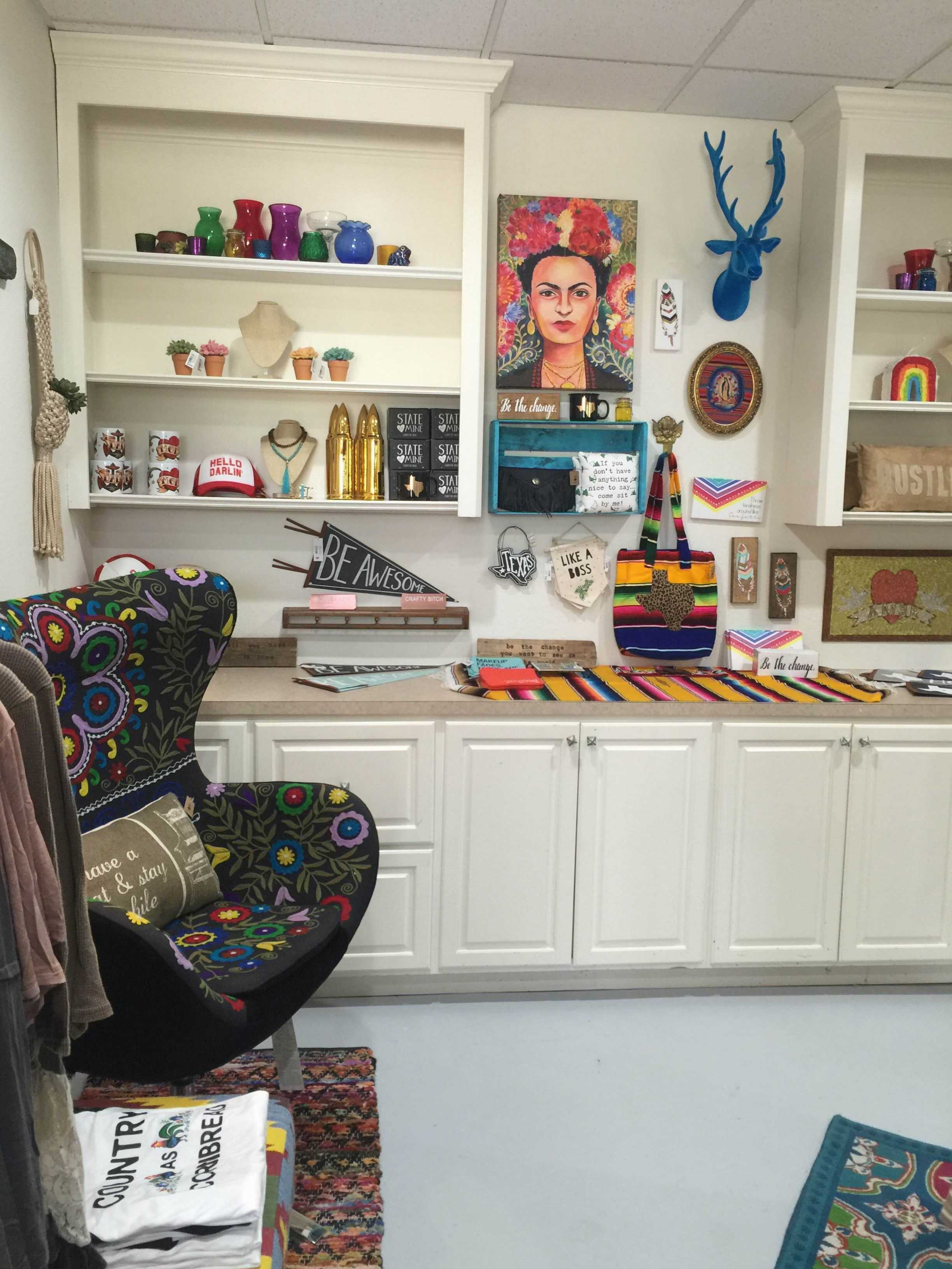 A look at a small portion of Sweet Texas Treasures located in Montgomery, Texas.