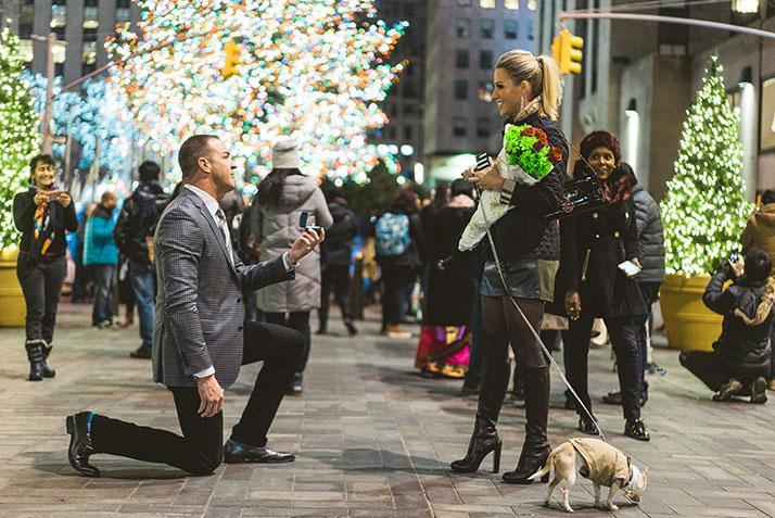Haddox gets engaged over Christmas Break