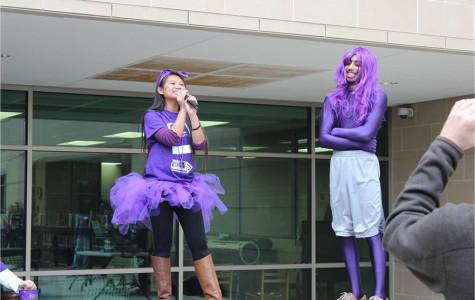 HOSA raises awareness through purple rally