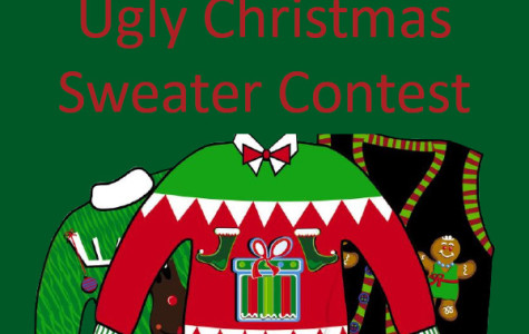 Students participate in ugly Christmas sweater contest
