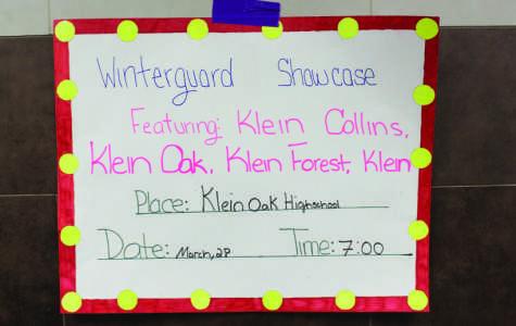 Klein Indoor Color Guard goes 'Radioactive'
