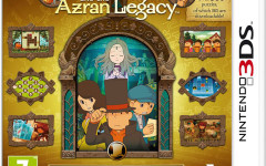 Professor Layton challenges players in solving Azran legacy