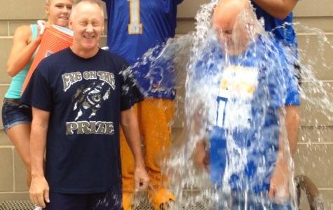 KHS administrators take Ice Bucket Challenge