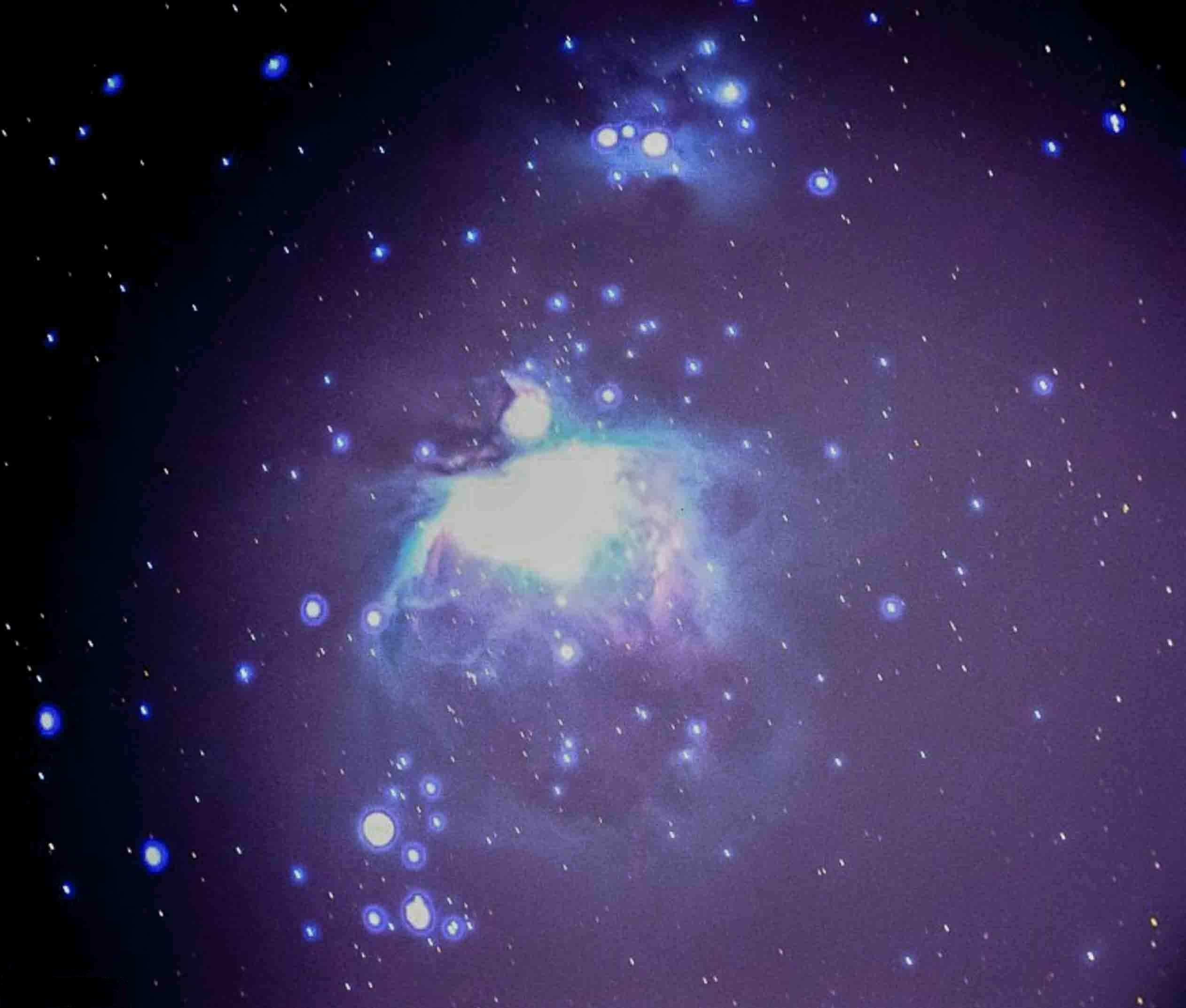 The Orion Nebula. Photo by Edgar Najera.
