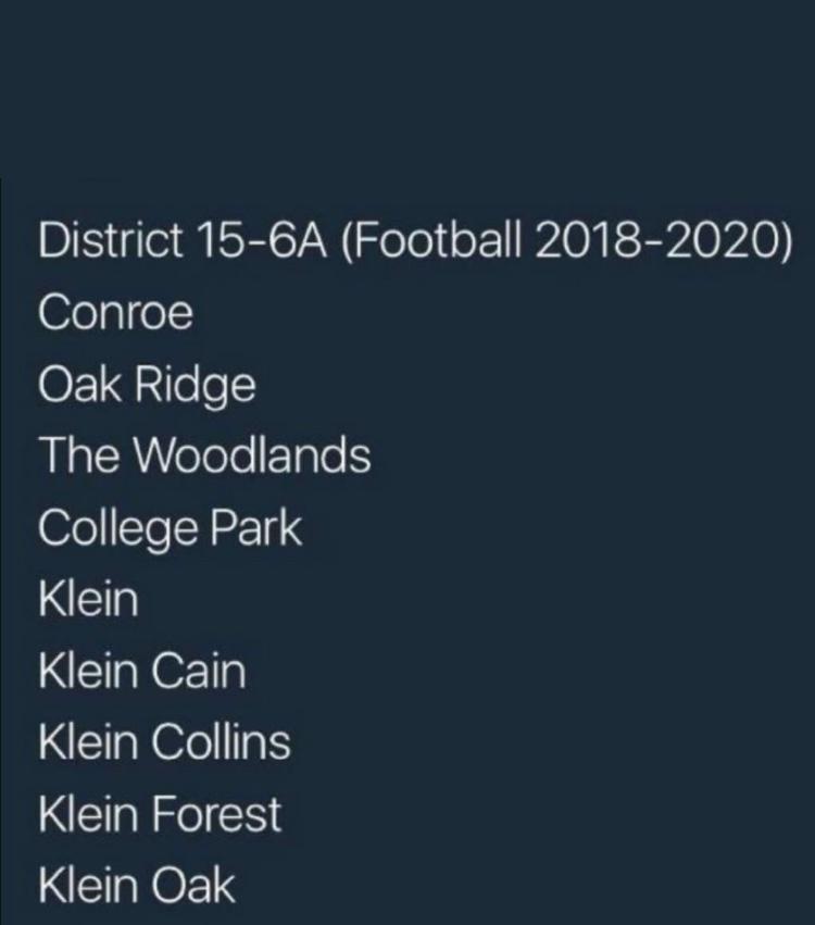 Courtesy of the Klein Football Twitter