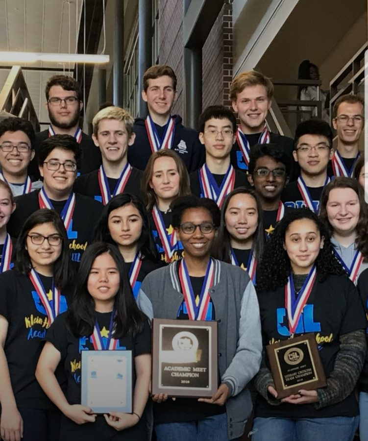Klein Dominates at Academic UIL