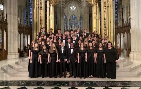 Chamber Choir Selected to Perform Alongside Top Schools in New York