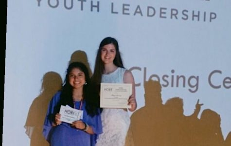 Klein Students Win Leadership Awards from the Hugh O'Brian Youth Leadership Conference.