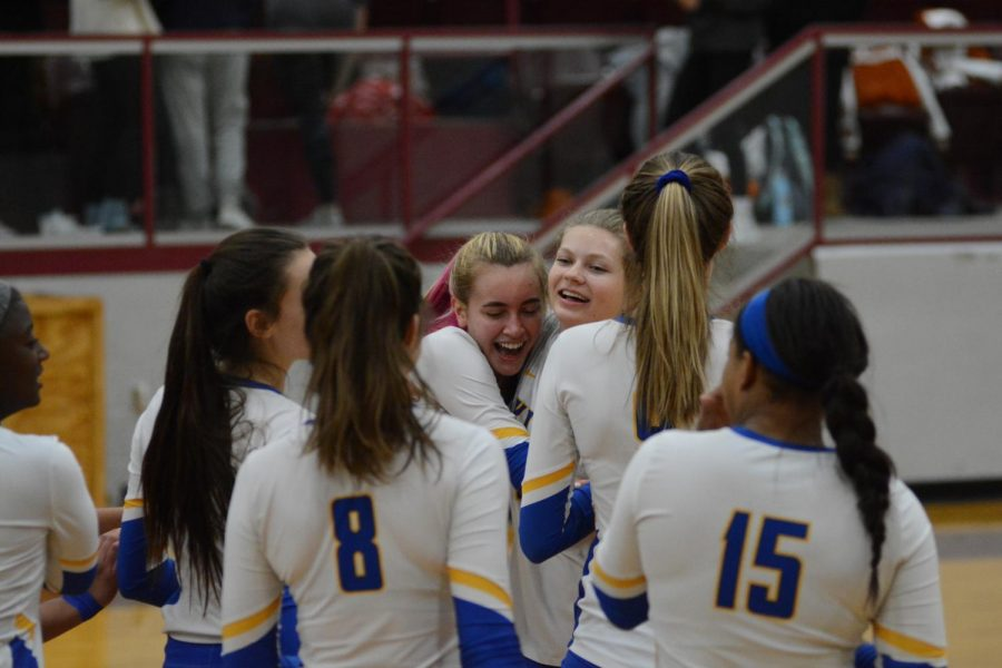 Volleyball Concludes Season at Regional Finals
