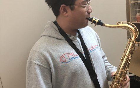 Band member defies odds