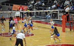 The Volleyball team takes on Seven Lakes in the UIL 6A State Championship game on Dec 12.